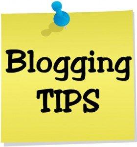 Blogging tips for Starters