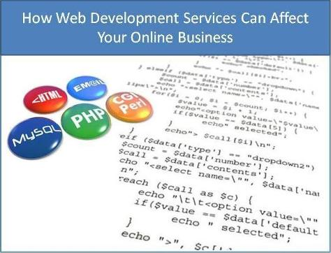 How Web Development Services Can Affect Your Online Business