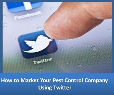 How to Market Your Pest Control Company Using Twitter