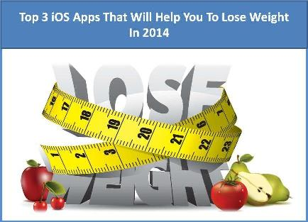 Top 3 iOS Apps That Will Help You To Lose Weight In 2014