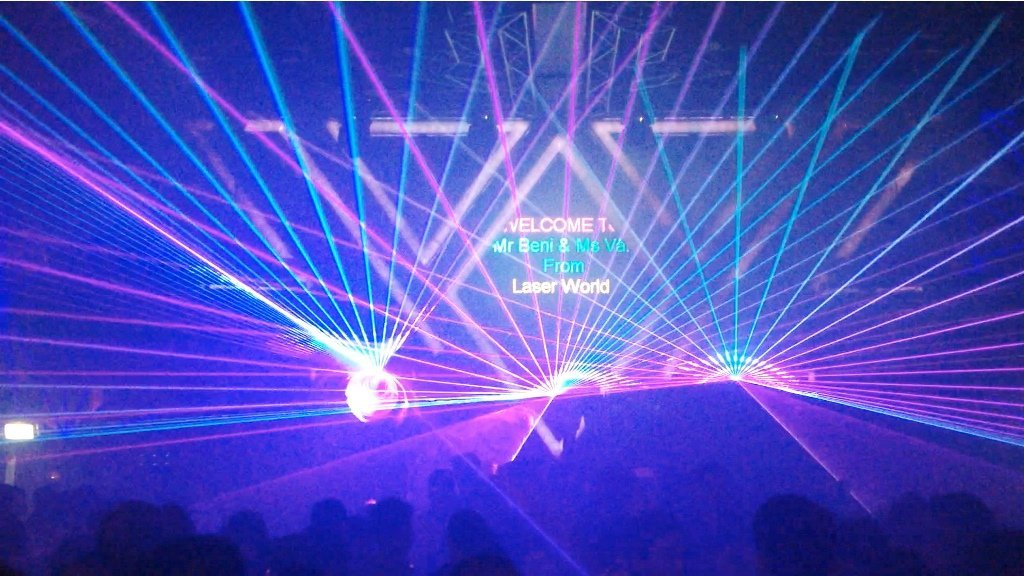 Use Laser Light Shows To Amaze Your Audience