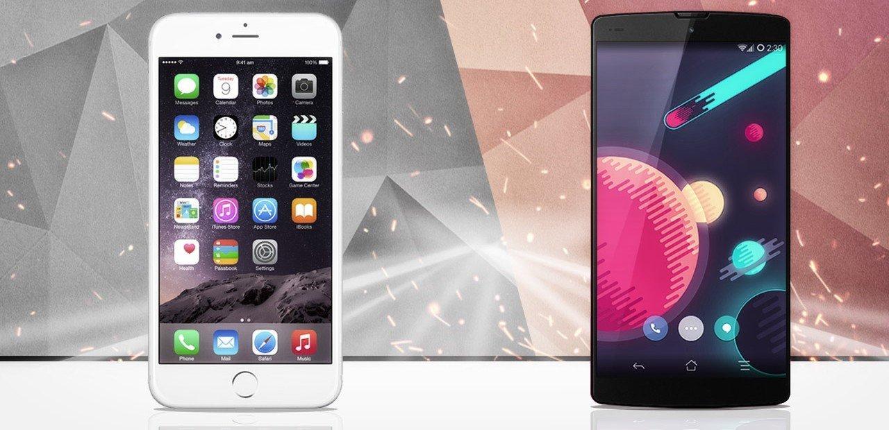 Comparison OneplusOne 2 VS iPhone 6S
