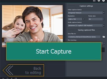 How to Record Webcam Video with the Movavi Video Editor