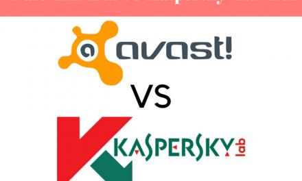 A Comparison Between Avast Antivirus VS Kaspersky Antivirus