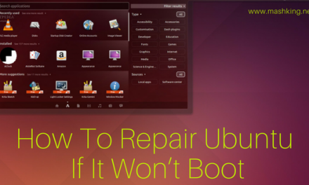 How To Repair Ubuntu If It Won't Boot