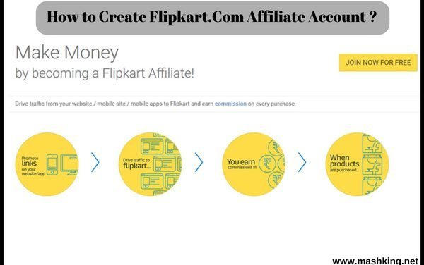 How to Create Flipkart.Com Affiliate Account: Updated 2018