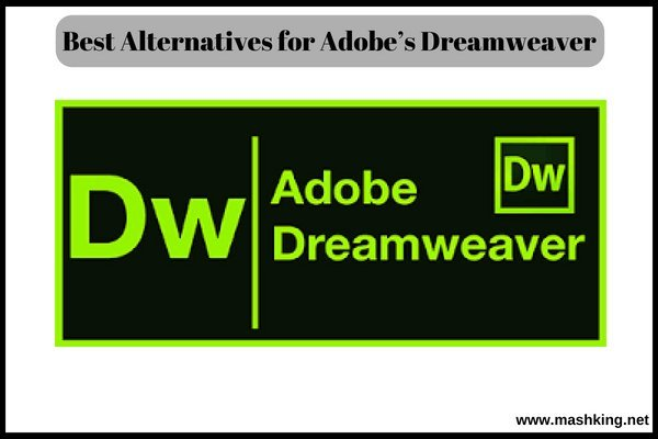 Best Alternatives for Adobe's Dreamweaver