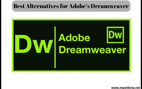 Best Alternatives for Adobe's Dreamweaver -( Updated 2018)