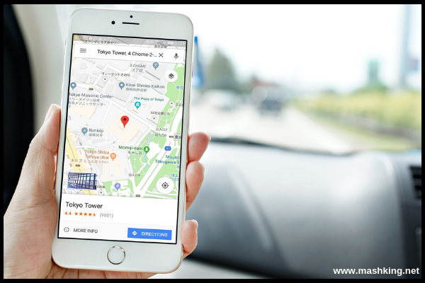 Get Directions From One Place To Another On Google Maps