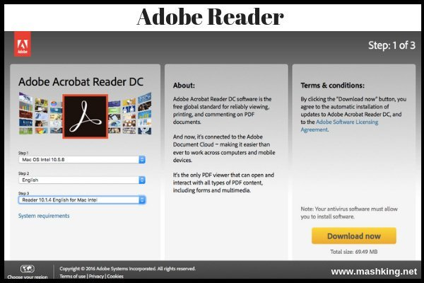 Adobe Reader For Mac