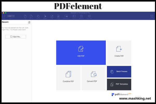 PDFelement-for Mac Best PDF reader for Mac