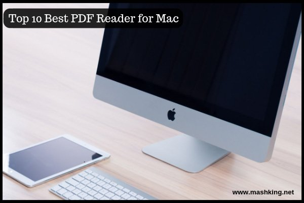 Top 10Best PDF reader for Mac