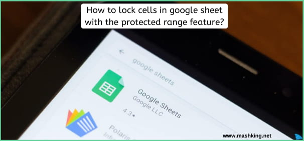 How To Lock Cells In Google Sheet With The Protected Range Feature?